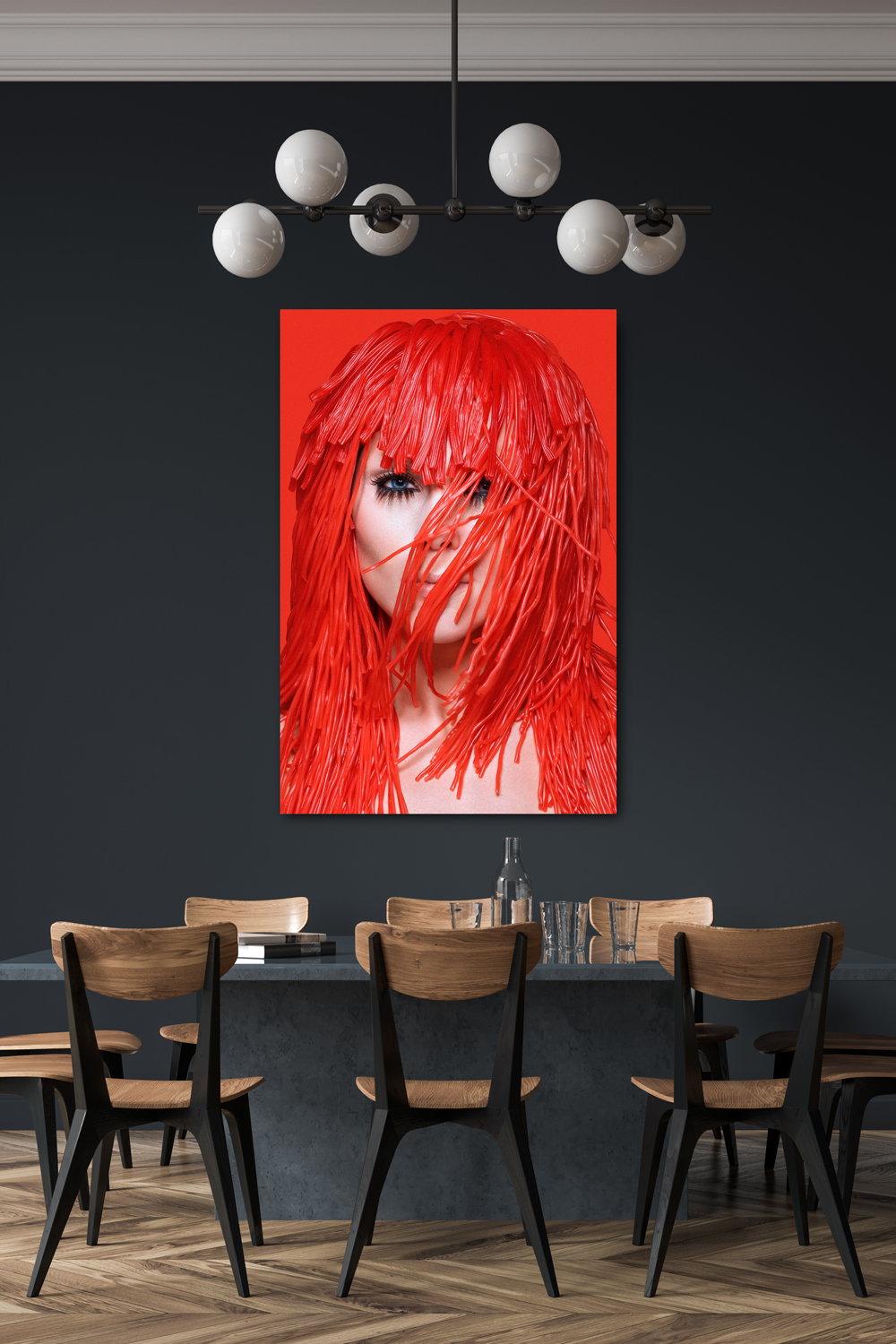 Red Candy Fine art print Gwenny Eeckels Boutique